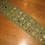 A Sad Story For This Great 1950s Merit Badges Sash