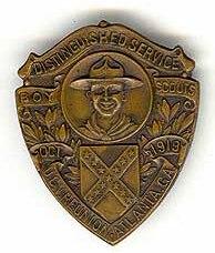 Boy Scout-UCV pin
