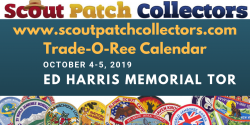 2019 Portland OR Ed Harris Boy Scout Trade-O-Ree
