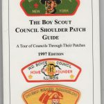 Boy Scout Council Shoulder Patch Sorting And Cataloging