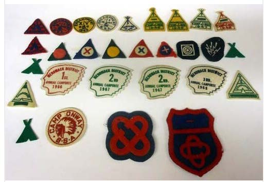 Lot of Felt Boy Scout Patches Joins The $1000 Club