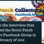 The Interview That Launched the Scout Patch Collectors Facebook Group