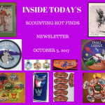 Tuesday Scouting Hot Finds Newsletter October 3, 2017