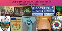 Sunday Scouting Hot Finds Newsletter April 14, 2019