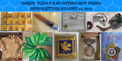 Friday Scouting Hot Finds Newsletter August 16, 2019