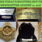 Friday Scouting Hot Finds Newsletter August 17, 2018