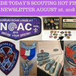 Sunday Scouting Hot Finds Newsletter August 26, 2018