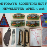 Tuesday Scouting Hot Finds Newsletter April 3, 2018