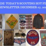 Friday Scouting Hot Finds Newsletter December 7, 2018