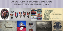 Sunday Scouting Hot Finds Newsletter December 9, 2018