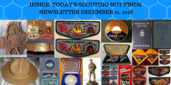 Tuesday Scouting Hot Finds Newsletter December 11, 2018