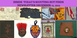 Sunday Scouting Hot Finds Newsletter December 15, 2019