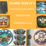 Friday Scouting Hot Finds Newsletter December 22, 2017