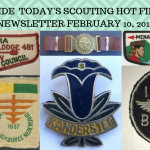 Sunday Scouting Hot Finds Newsletter February 10, 2019