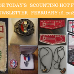 Friday Scouting Hot Finds Newsletter February 16, 2018