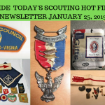 Friday Scouting Hot Finds Newsletter January 25, 2019