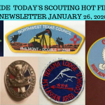 Sunday Scouting Hot Finds Newsletter January 26, 2020