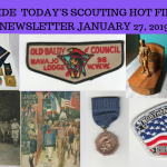Sunday Scouting Hot Finds Newsletter January 27, 2019
