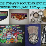 Tuesday Scouting Hot Finds Newsletter January 29, 2019