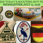 Sunday Scouting Hot Finds Newsletter July 15, 2018
