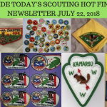 Sunday Scouting Hot Finds Newsletter July 22, 2018