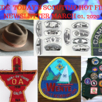 Sunday Scouting Hot Finds Newsletter March 01, 2020