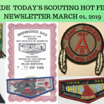 Friday Scouting Hot Finds Newsletter March 01, 2019