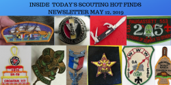 Sunday Scouting Hot Finds Newsletter May 12, 2019