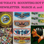 Sunday Scouting Hot Finds Newsletter March 18, 2018