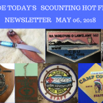 Sunday Scouting Hot Finds Newsletter May 6, 2018