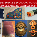 Sunday Scouting Hot Finds Newsletter November 03, 2019