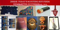 Sunday Scouting Hot Finds Newsletter November 03, 2019