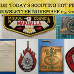 Tuesday Scouting Hot Finds Newsletter November 05, 2019