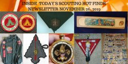 Tuesday Scouting Hot Finds Newsletter November 26, 2019