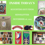 Sunday Scouting Hot Finds Newsletter November 26, 2017