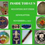 Friday Scouting Hot Finds Newsletter November 3, 2017