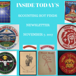 Tuesday Scouting Hot Finds Newsletter November 7, 2017