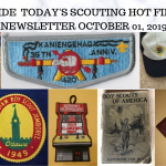 Tuesday Scouting Hot Finds Newsletter October 1, 2019