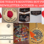 Sunday Scouting Hot Finds Newsletter October 07, 2018