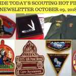 Tuesday Scouting Hot Finds Newsletter October 09, 2018