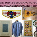 Sunday Scouting Hot Finds Newsletter October 20, 2019