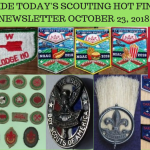 Tuesday Scouting Hot Finds Newsletter October 23, 2018