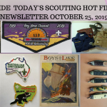 Friday Scouting Hot Finds Newsletter October 25, 2019