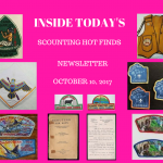 Tuesday Scouting Hot Finds Newsletter October 10, 2017