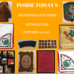 Sunday Scouting Hot Finds Newsletter October 15, 2017