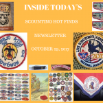 Sunday Scouting Hot Finds Newsletter October 29, 2017