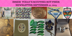 Tuesday Scouting Hot Finds Newsletter September 10, 2019