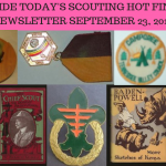 Sunday Scouting Hot Finds Newsletter September 23, 2018
