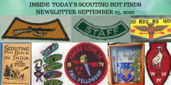 Friday Scouting Hot Finds Newsletter September 25, 2020