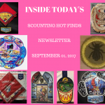 Friday Scouting Hot Finds Newsletter September 01, 2017